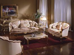 Gold Sofa Living Room White Leather Comfy Sofa Featuring White Fur Area Rug And Brown