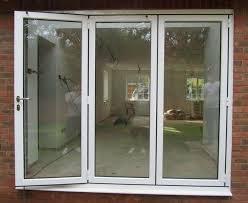 Aluminium Folding Patio Doors 3 Panel Patio Door