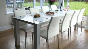 High Gloss Extending Dining Table High Gloss Chairs China High Gloss Stainless Steel Legs Dining