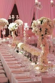 Long Table Centerpieces Glitzy Ballroom Wedding At The St Regis Monarch Beach Inside