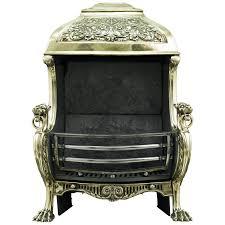 Renaissance Home Decor 19th Century Renaissance Style Brass Hooded Antique Fireplace