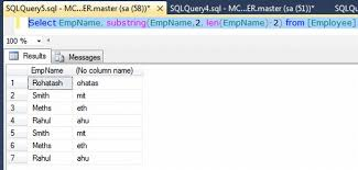 How To Delete A Table In Sql Removing The First And Last Character From A Table Column In Sql