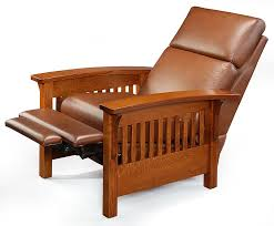 Wooden Recliner Chair Hoot Judkins Furniture San Francisco San Jose Bay Area Simply