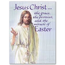 jesus the grace the promise easter card