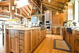 rustic cabinets for kitchen rustic cabinet kitchen hickory cabinets pictures ramanations com