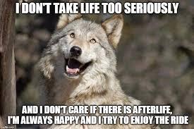 Wolf Meme - optimistic moon moon wolf vanadium wolf meme generator imgflip