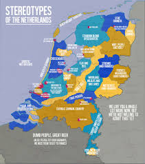 Map Of Netherlands Stereotypes Of The Netherlands Oc 2000x2255 Mapporn