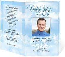 Funeral Program Maker Download Edit Print Ready Made Program Funeral Program