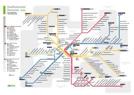 Dortmund Germany Map by Stadtbahn Hanover Metro Map Germany