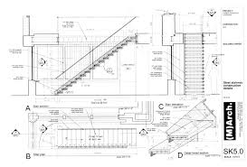exterior stair detail drawings stairs pinned by www modlar com
