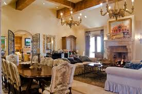 Tuscan Style Dining Room Featured Project Custom Designed Tuscan Style Build