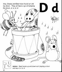 astounding printable letter coloring page with letter d coloring