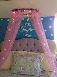 Diy Canopy Bed With Lights Diy Bed Canopy With Lights Designs