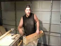 how to taper 4x4 table legs simple jig easy way to cut tapered legs new concept youtube