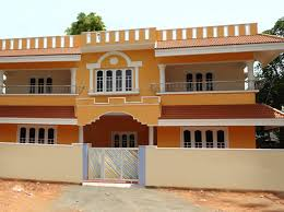 Indian Home Colour Outside