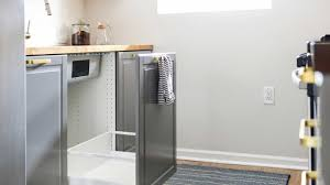 ikea kitchen sink cabinet installation how ikea trash bin cabinets affect your kitchen design