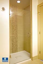Hinged Frameless Shower Door by Frameless Glass Shower Spray Panel Oasis Shower Doors Ma Ct Vt Nh