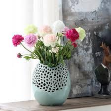 oval exquisite high end glaze vases floor vase large vase bud