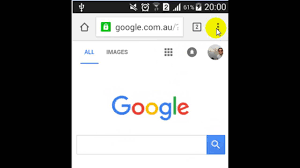 chrome for android how to set the home page in chrome android app