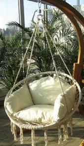 hanging chair swing i know what to do with the papasan chair