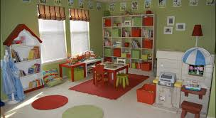Rugs With Red Accents Breathtaking Green And Apple Red Kid Playroom With Blue Accents