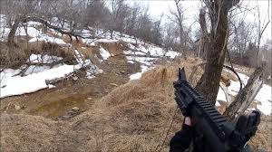 woodland airsoft war 7 2 v 1 a u0026k cqb m4 well p90 youtube