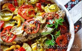 cuisine poisson tajine de poisson au four cuisine du maroc et d ailleurs