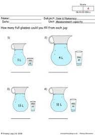 primaryleap co uk measurement capacity worksheet