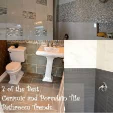 tile bathrooms 7 best ceramic and porcelain tile trends for bathrooms the toa