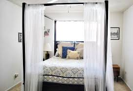 Curtains For Canopy Bed Frame Contemporary Canopy Bed Curtains Ideas Home Design By John