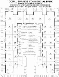 Commercial Complex Floor Plan Floor Plan Coral Springs Commercial Park