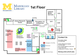 Floor Plans Mardigian Library