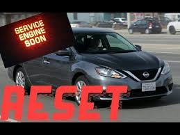 service engine soon light nissan sentra how to reset service engine soon light on a 2015 nissan sentra