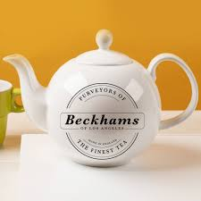 china gifts personalised bone china teapot purveyors of the finest tea