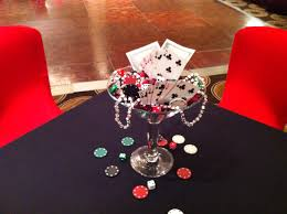 martini birthday card martini glass centerpiece for casino theme party casino theme