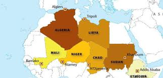 africa map 54 countries top 10 largest countries by area