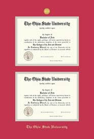ohio state diploma frame custom diploma frames certificate frames framing success the