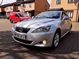 2006 lexus is 220d diesel 6 speed manual service history long