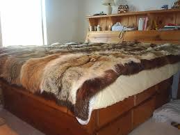 Fox Fur Blanket Real Fur Bedspreads Of Fox Mink Lynx Chinchilla Beaver Raccoon