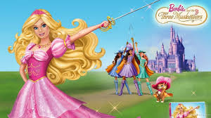 barbie musketeers 593 cartoons hd desktop wallpaper