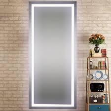 light up full length mirror led lighted salon mirror full length home pinterest salons