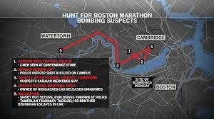 Boston Marathon Route Google Maps by Map Timeline Web Jpg