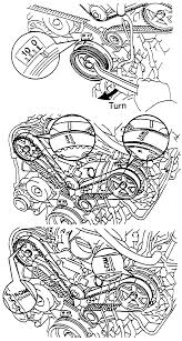 1993 toyota 4runner timing belt diagram 3vze timing marks