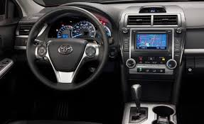 i would have a black 2013 toyota camry se with black leather and