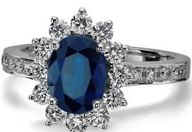 ring meaning gemstone engagement rings stunning sapphire diamond