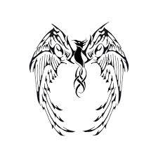 flying birds tattoo designs 48 tribal phoenix tattoos ideas