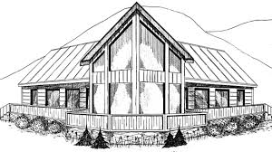 house plans with big windows banff studio home office plan 063d 7501 house plans and more
