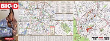 Dallas Area Map Dallas Map By Vandam Dallas Streetsmart Map City Street Maps