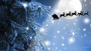 reindeer tag wallpapers winter presents snowing nicholas