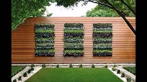 Garden Wall Planter by Stunning Vertical Planter Box Youtube